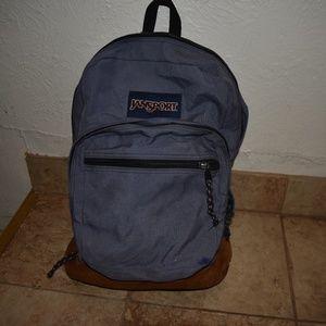 Jansport leather bottom backpack